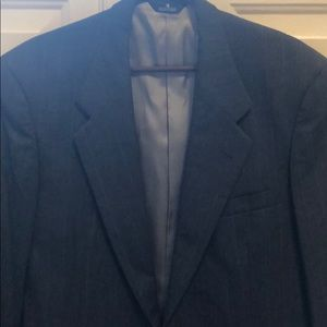Perry Ellis dark gray sport coat